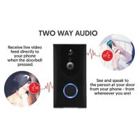 OYN-X WIFI SMART VIDEO DOORBELL front door CAMERA INTERCOM with 2 WAY AUDIO & Android IOS PHONE APP