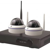 SECYOUR Wifi 8 Channel 2MP NVR with 2 x 2MP Dome Cameras