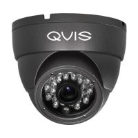 QVIS 2.4MP Fixed Lens Eyeball Dome CCTV Camera with 24pcs IR
