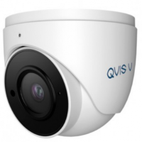QVIS 6MP Viper IP Fixed Lens Turret Camera with built in audio as standard (White)